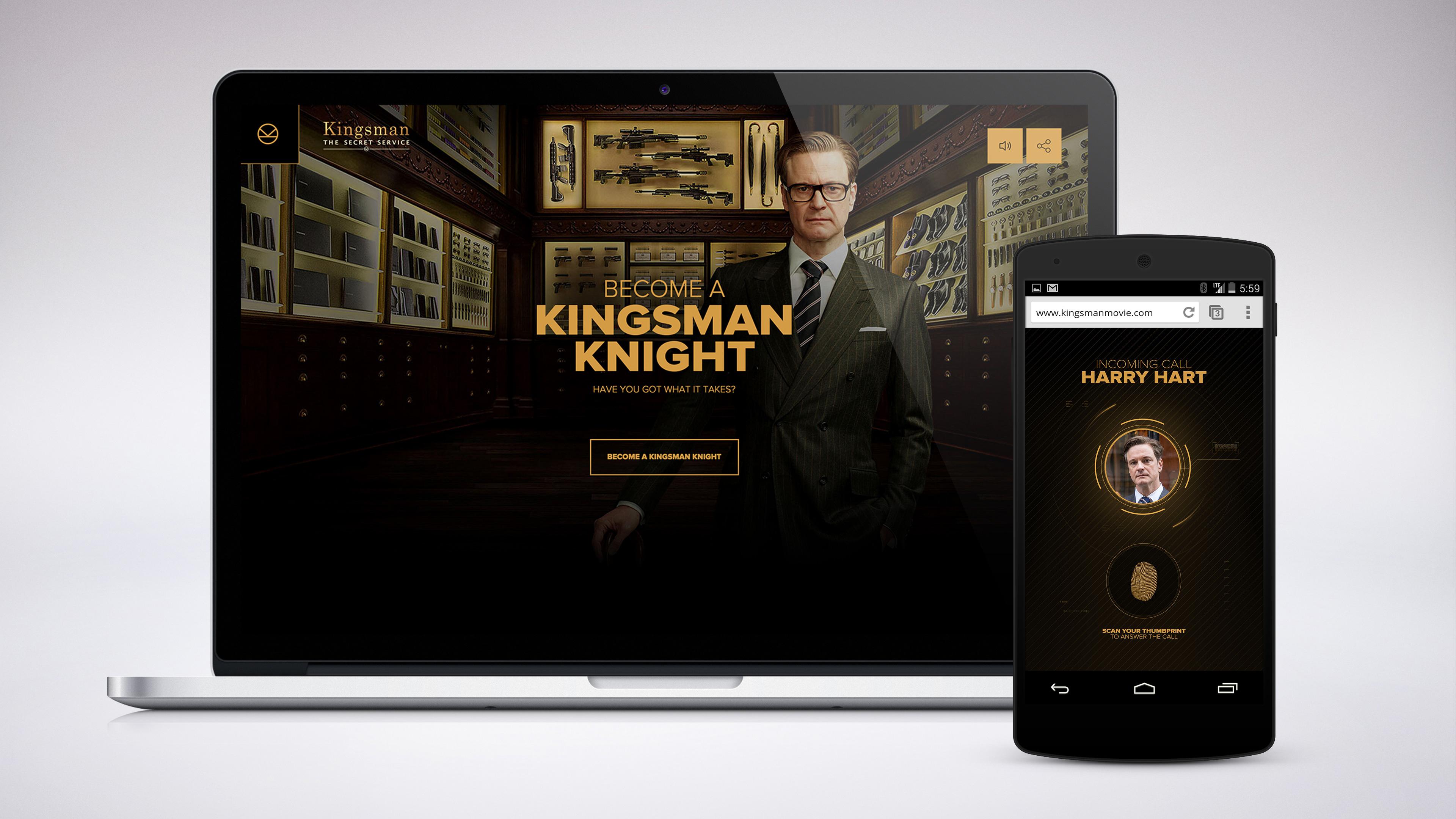 Kingsman The Secret Service The Movie Trailer Gamified Unit9