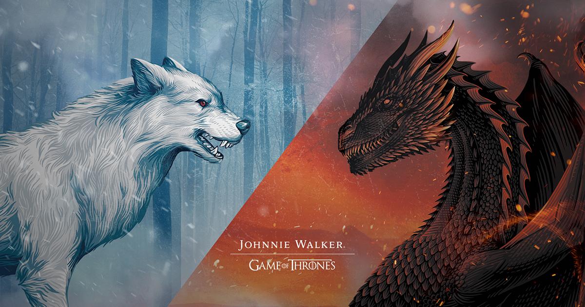 Johnnie Walker Dragon Glass