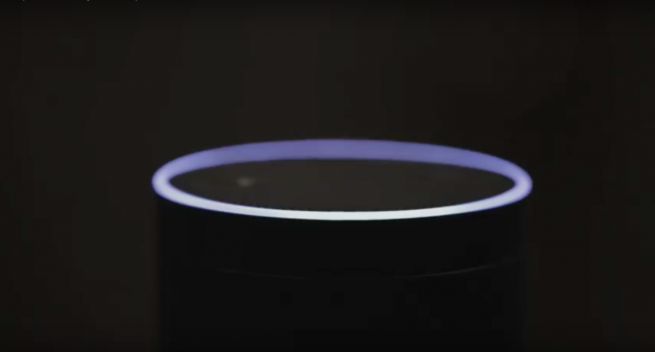 The Amazon Echo experience was the world's first voice-activated