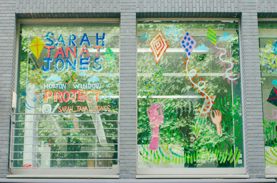 Hoxton Window Project Sarah Tanat-Jones