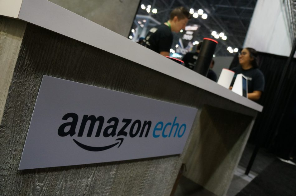 The Amazon Echo experience was the world's first voice