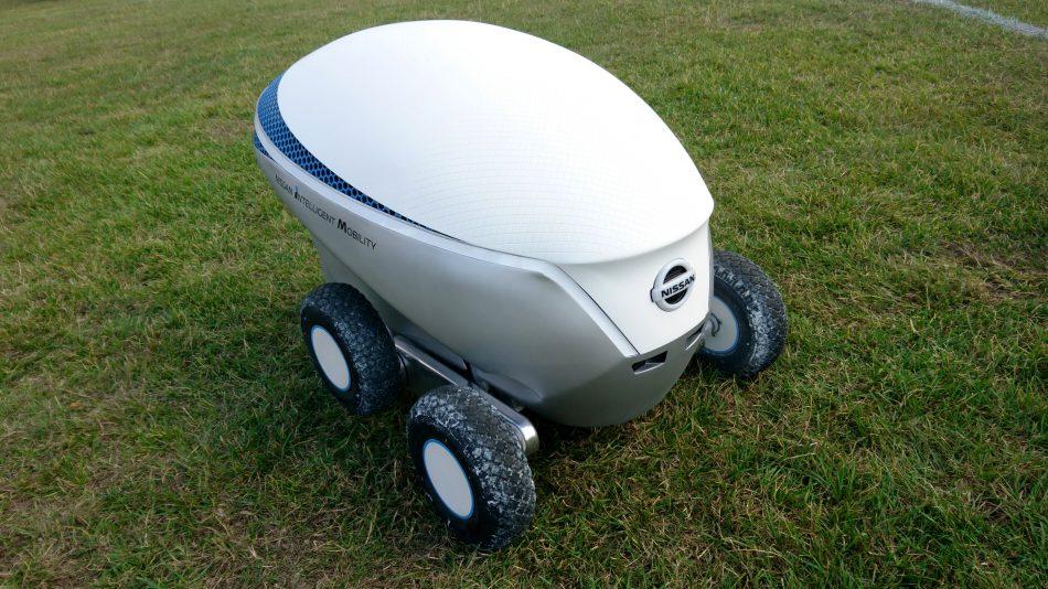 Nissan Pitch-R Robot