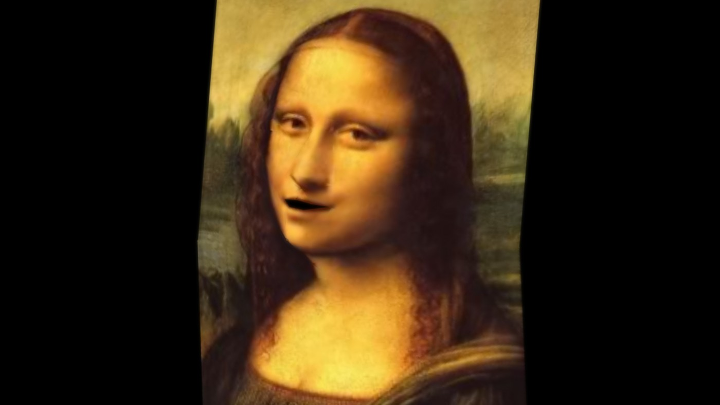Mona Lisa Singing