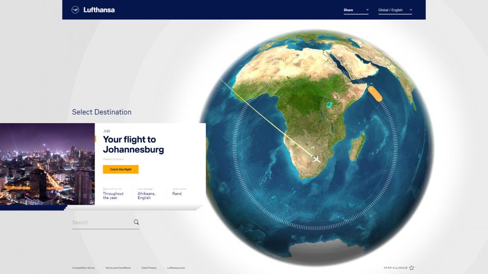 Lufthansa #SayYesToTheWorld 2