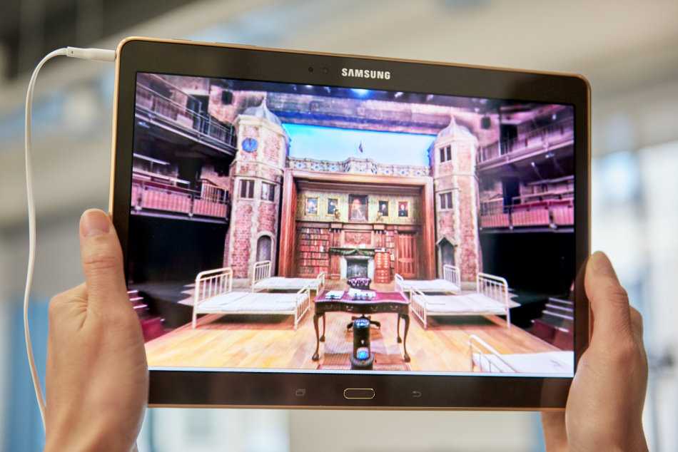 Re: Shakespeare Samsung's interactive Android app