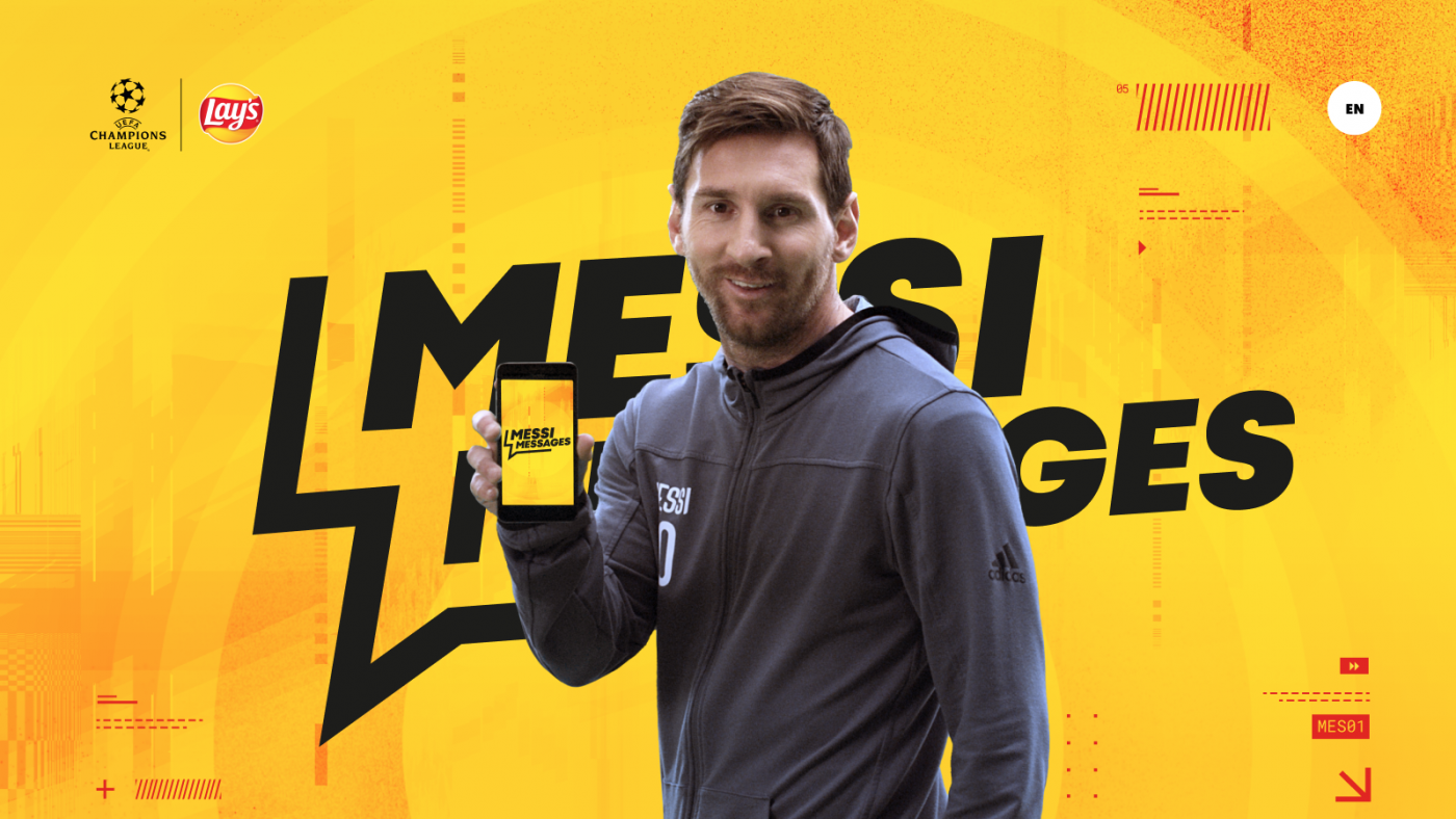 Lay's Messi Messages