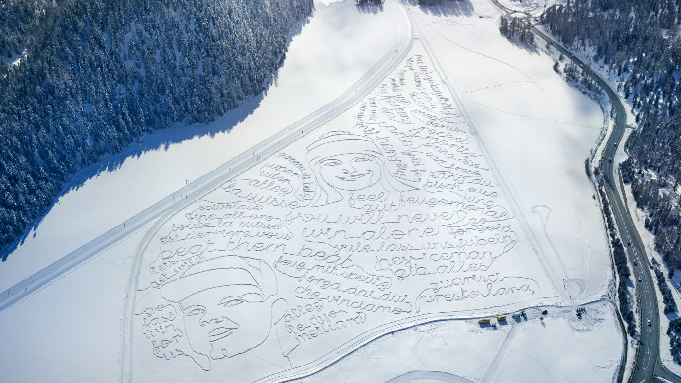 Swisscom: Snow Drawings