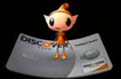 Discover Card: Send an Elf (Jumping Card)