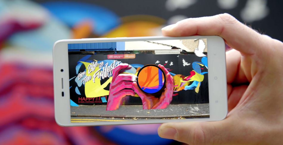 AliExpress AR Graffiti