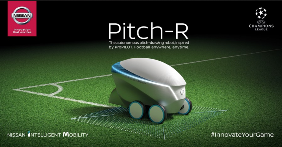 Nissan Pitch-R Robot